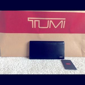 Tumi Monaco Breast Pocket Wallet (Black)